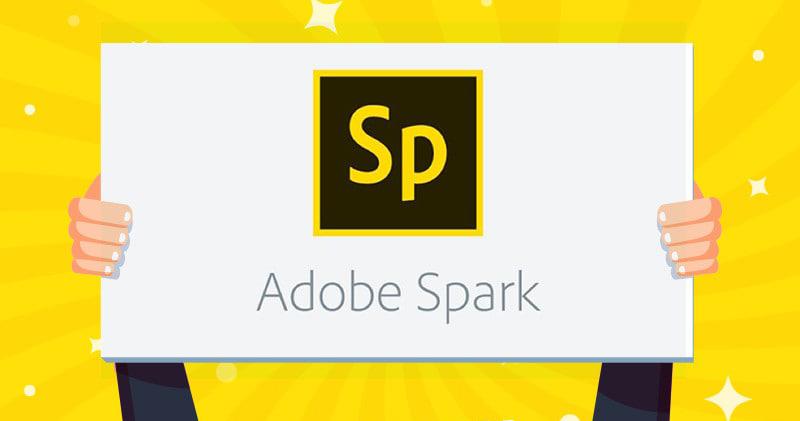 logo with Adobe Spark